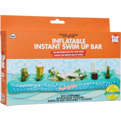 Inflatable Swim Up Bar from T K Maxx