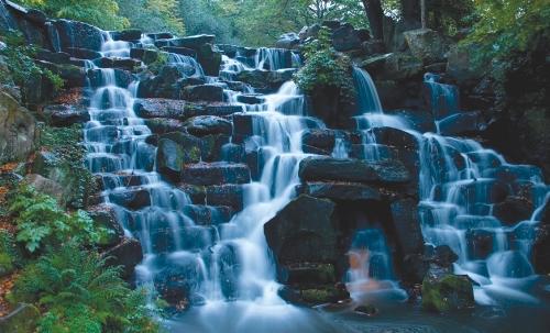 Virginia Water Waterfall