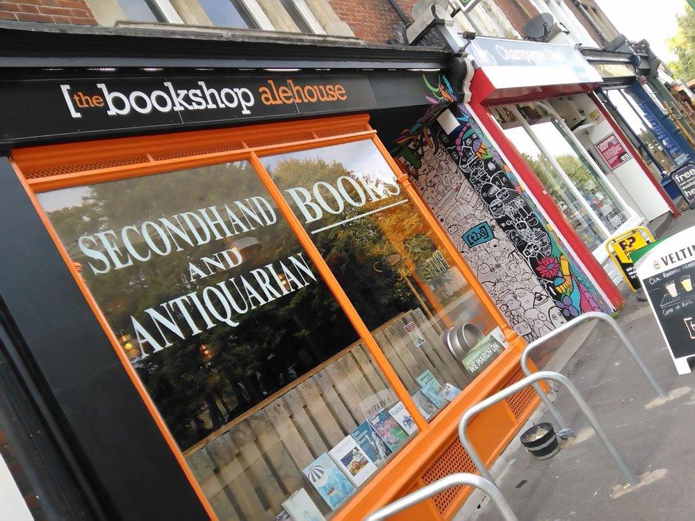 The Bookshop Alehouse, Portswood | Image source  Southampton Pubs Blog