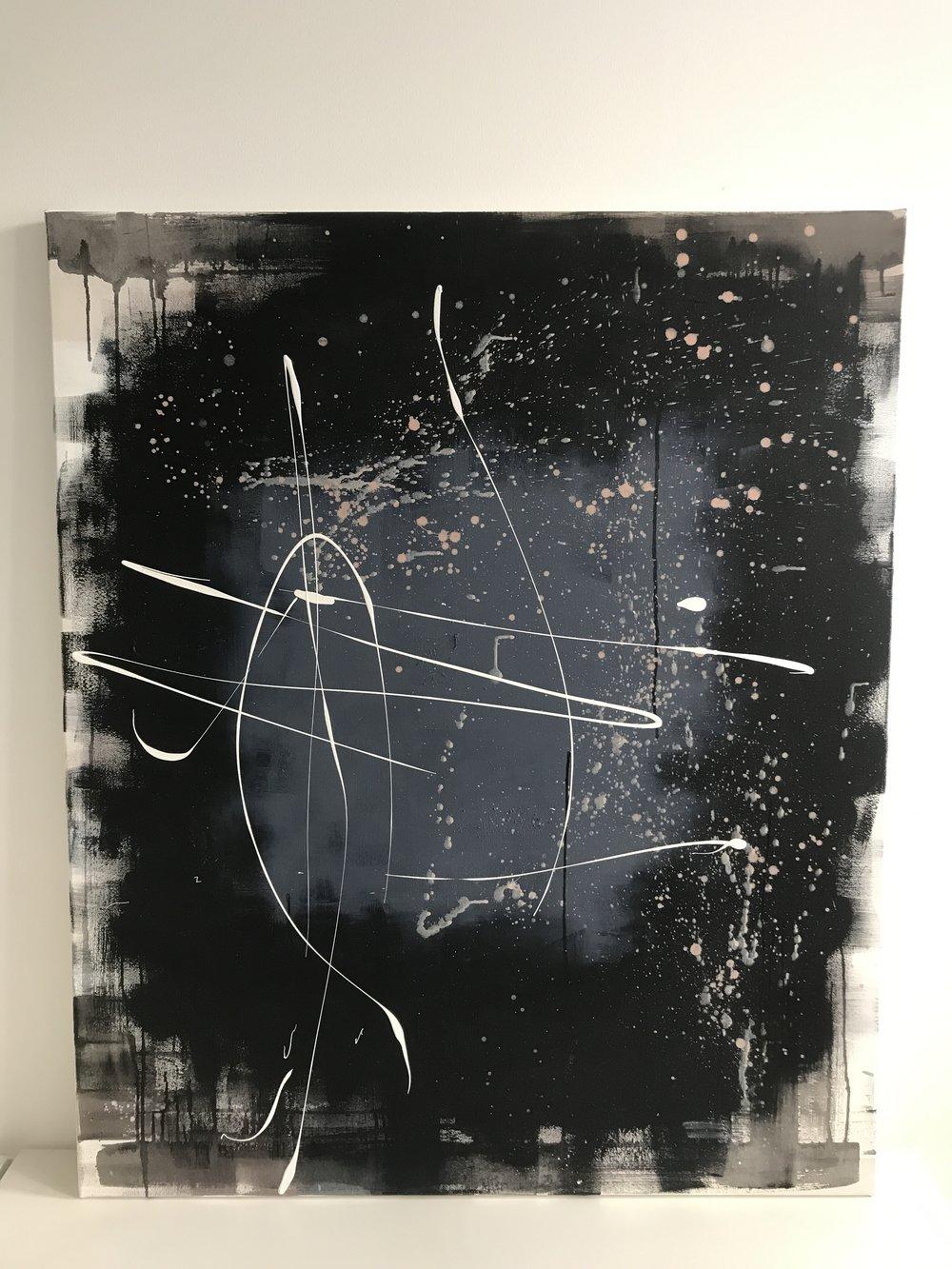 nothing, 2017  100cm x 120cm, 850€