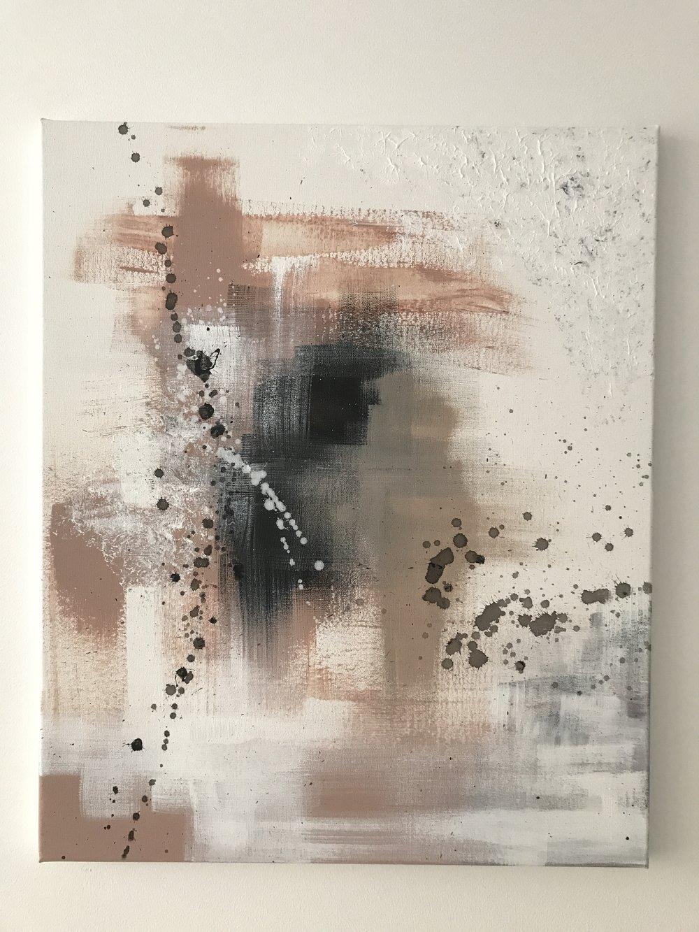 Simple, 2017 (sOLD)  50cm x 70cm, 250€