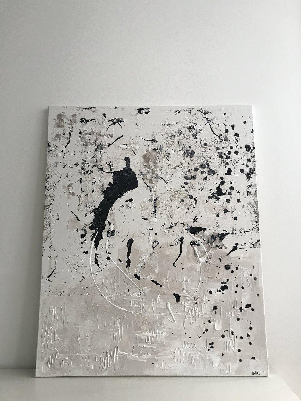 part I , 2018  80cm x 100cm, 650€