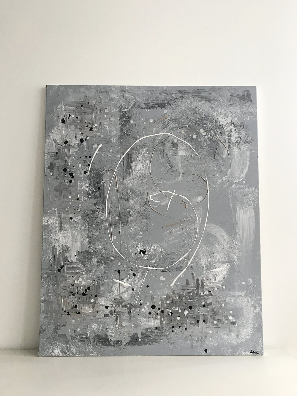 do you see me , 2018  80cm x 100cm, 650€