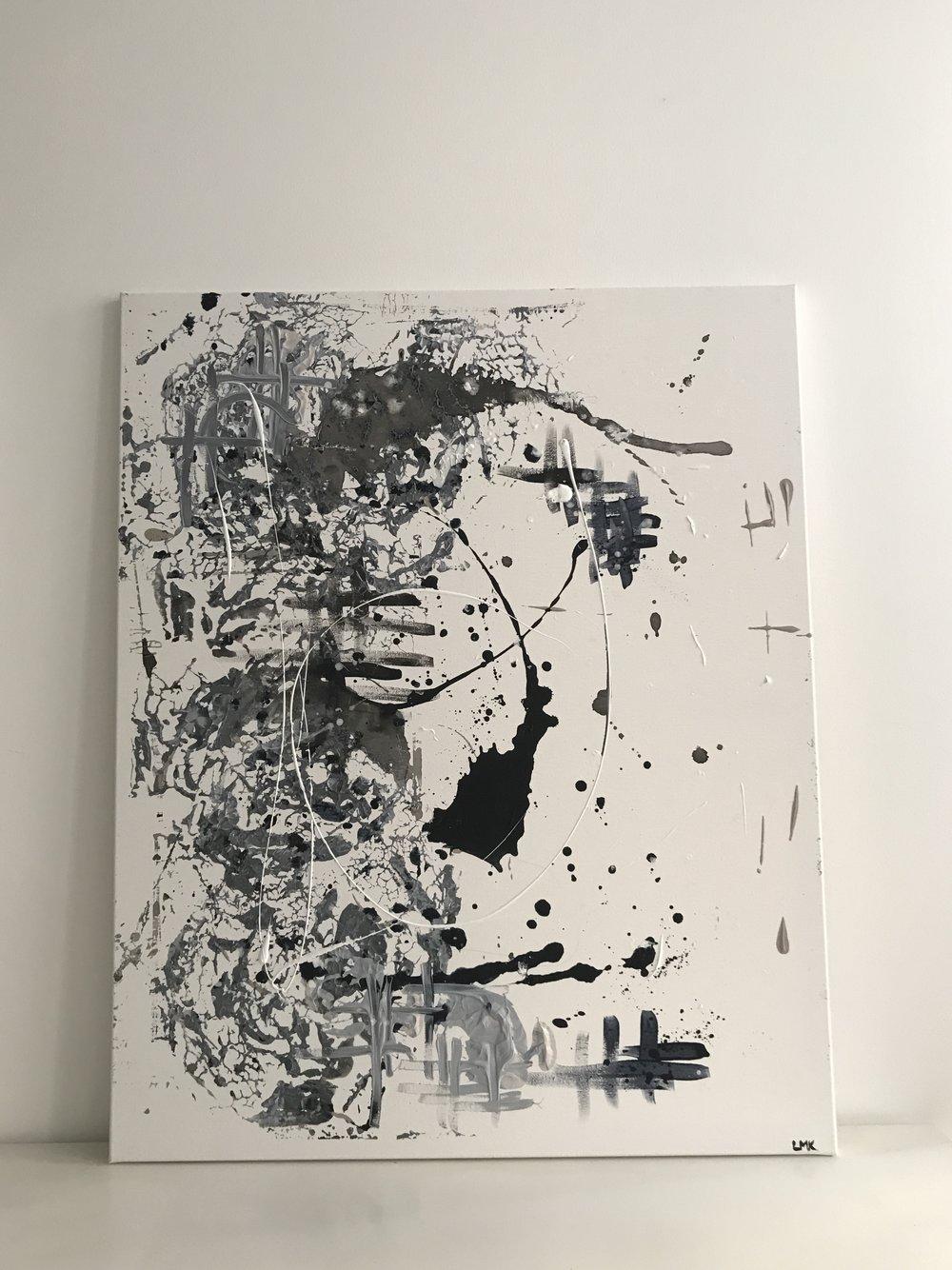 part II, 2018  80cm x 100cm, 650€