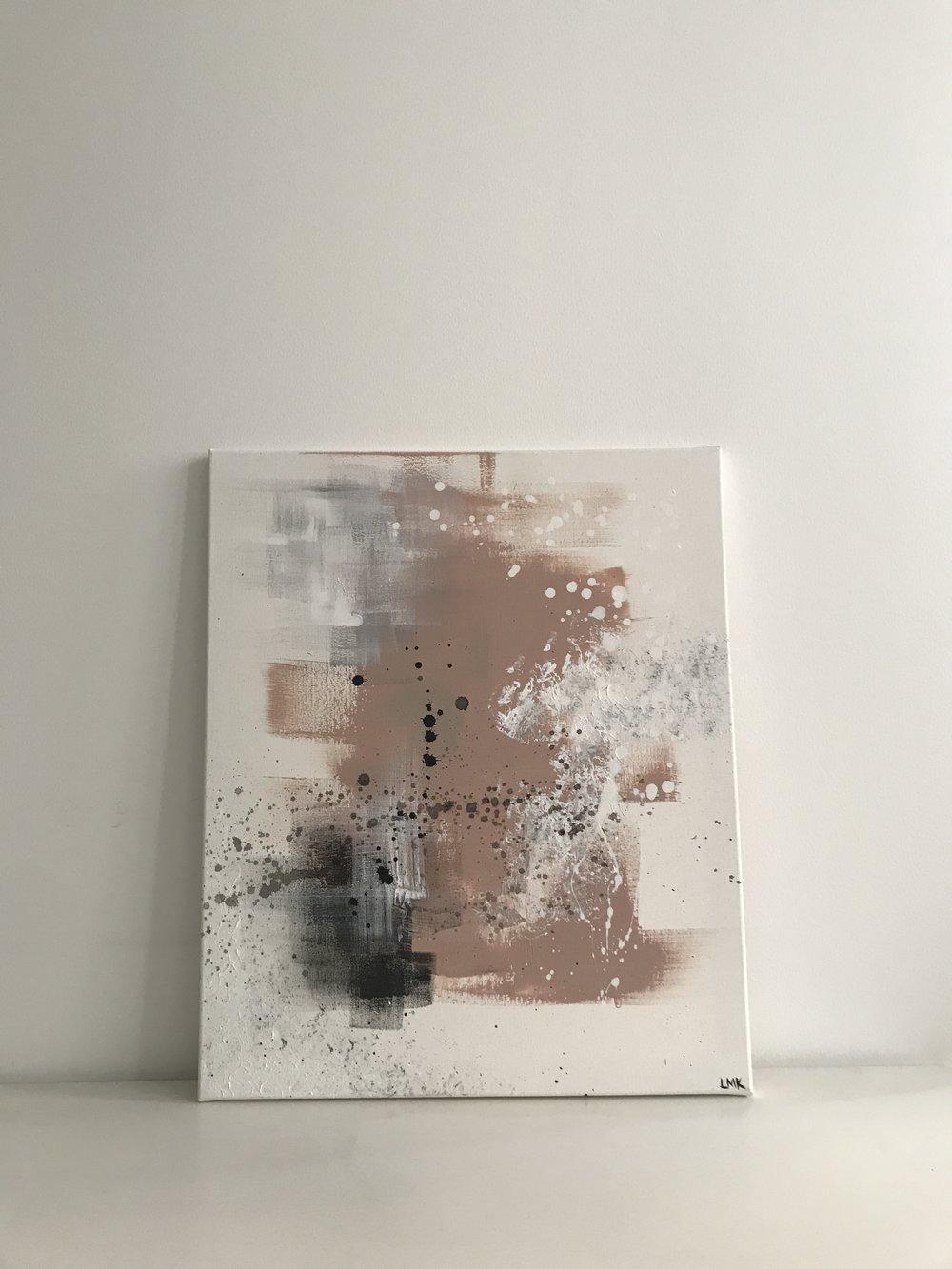 pink vision, 2018 (SOLD)  60cm x 80cm, 250€