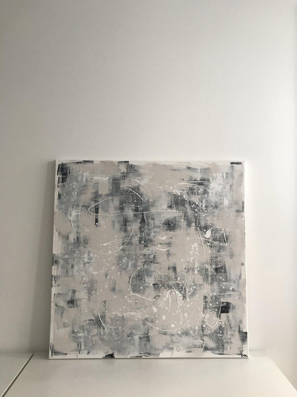 continuity, 2018  100cm x 100cm, 750€