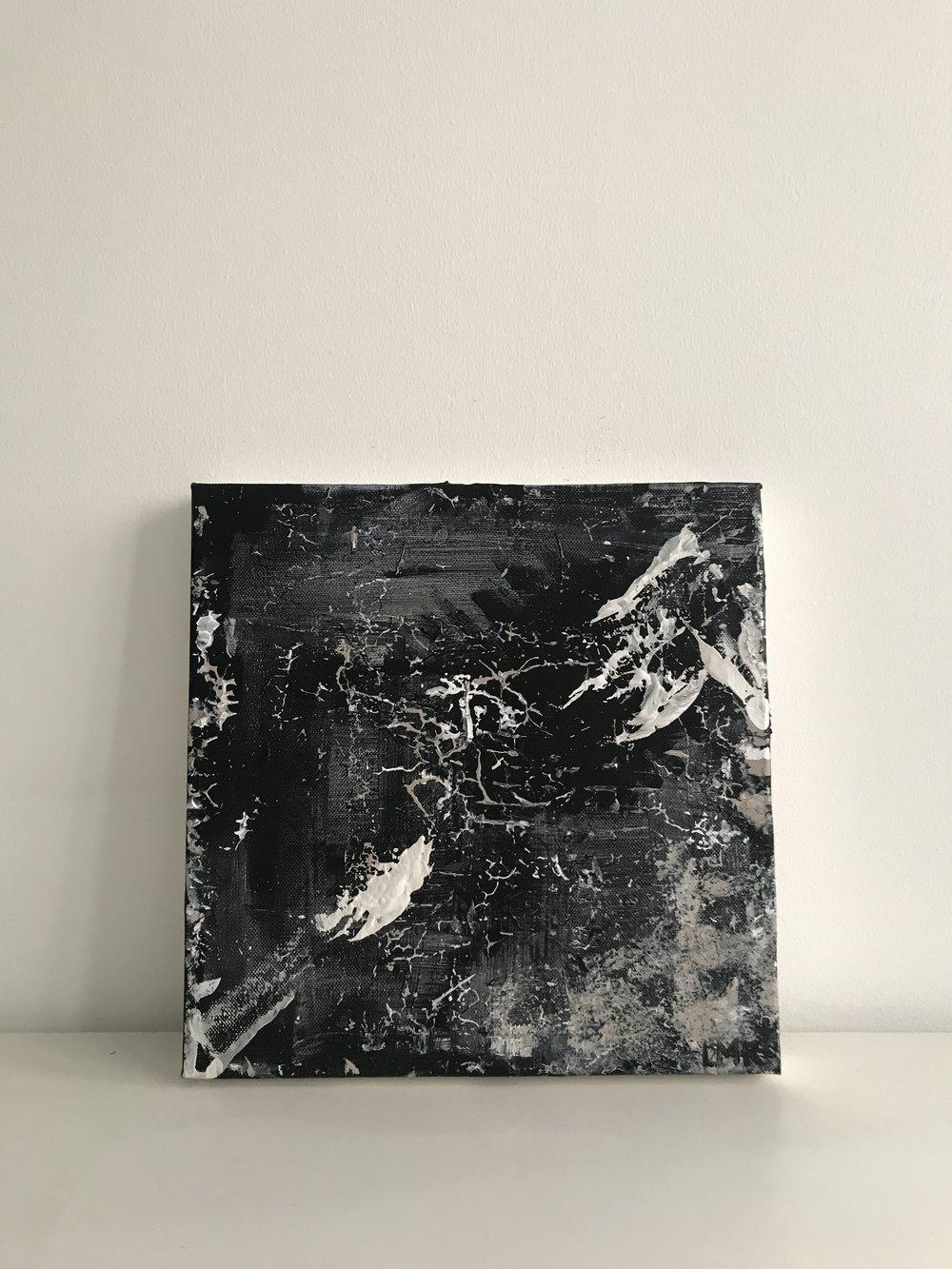 winter, 2018, (sold)  25cm x 25cm