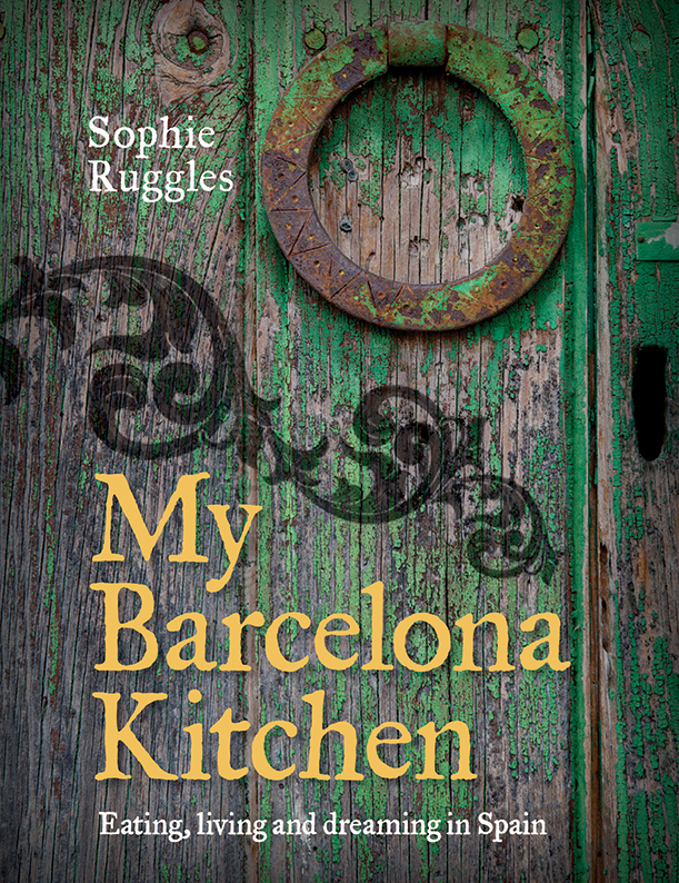 Inspired by what she sees, eats, cooks and experiences as a local in the heart of Barcelona, Australian-born Sophie Ruggles brings to life this vibrant city with her colourful collection of recipes, stories and images. Sophie shares her quirky insights and personal cooking touches, as well as her understanding of the heartwarming and approachable local cuisine that made her fall in love with the place and its food in My Barcelona Kitchen.INCLUDED ARE USFUL TIPS ON LOCAL INGREDIENTS AND COOKING METHODS TO HELP OUTSIDERS NAGEGATE THEIR WAY THROUGH THE MOT TRADITIONAL SPANISH RECIPES.DISCOVER A LIVEL, DIVERSE CITY AND HAVE AN AUTHENTIC EXPERIENCE IN YOUR OWN HOME KITCHEN WITH MY BARCELONA KITCHEN. - murdoch books 2012