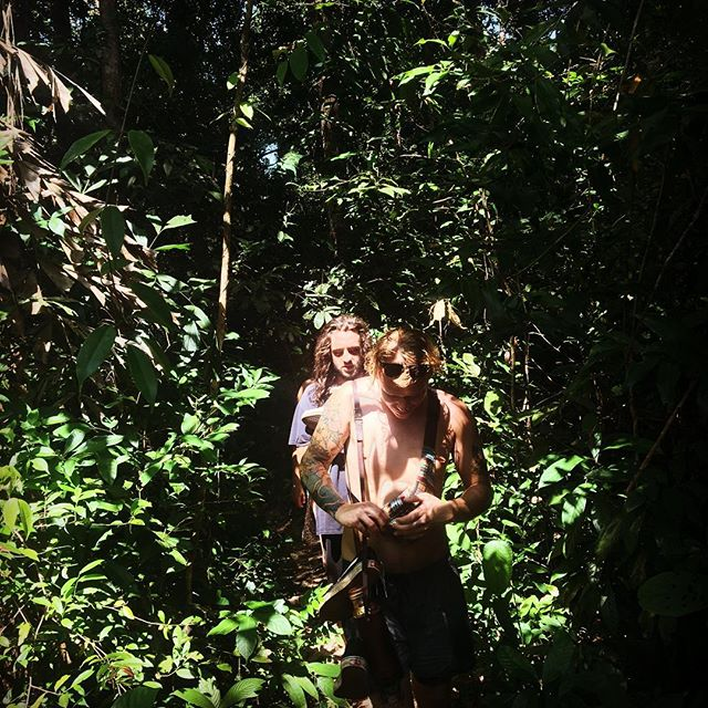 Some jungle trekking at #kohtakiev . . .  #Cambodia #lifestylebydesign #southeastasia #goexplore #workabroad #adventureseeker #workexploretravel #timeforachange #travel #travelling #roamtheplanet #worldtraveller #lovetotravel #asia #instatravel #wanderlust #gapyear #wanderer #travelphotography #bestoftheday #eslteacher #esl #teachinasia #20hourworkweek #tefl #roadlesstravelled