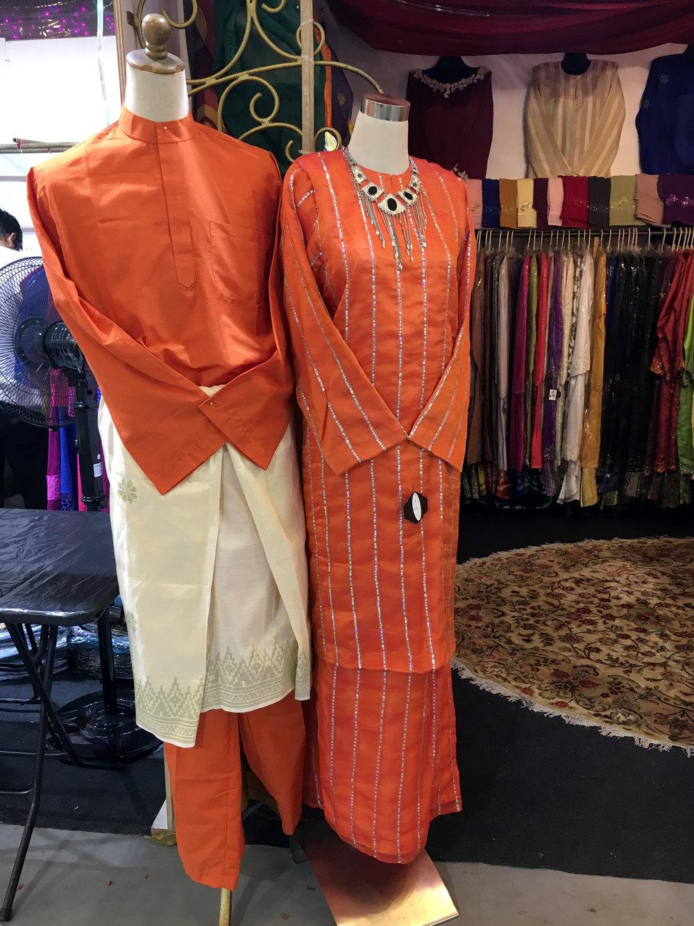 Baju Melayu and Baju Kurung