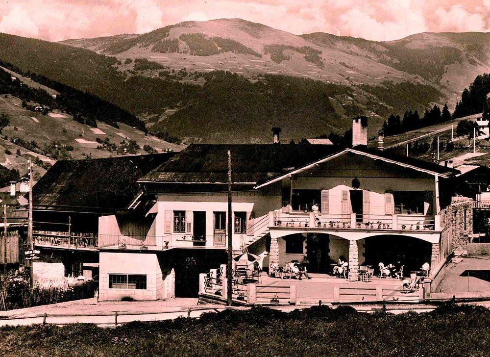 L'Hôtel les Ancolies en 1935
