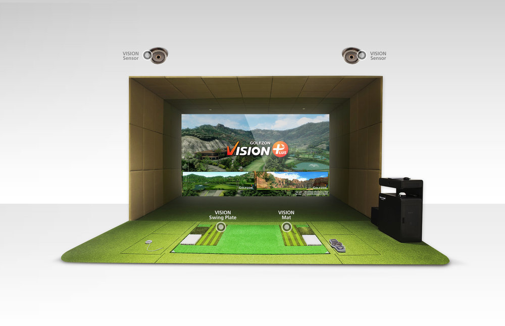 The best simulator on the market. - Undeniably sophisticated. NOTICEABLY Different.- 30,000 simulators in operation in 48 countries - 55 million rounds/year- 2 million online members- 300 tournaments/day-Immaculate Accuracy*2017-2019 Best golf simulator - golf digest editors choice