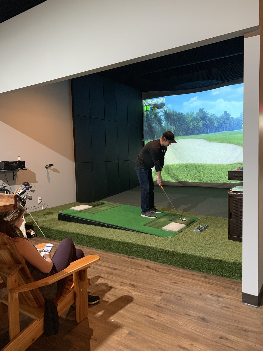 Bunker, Rough and Fairway Simulation