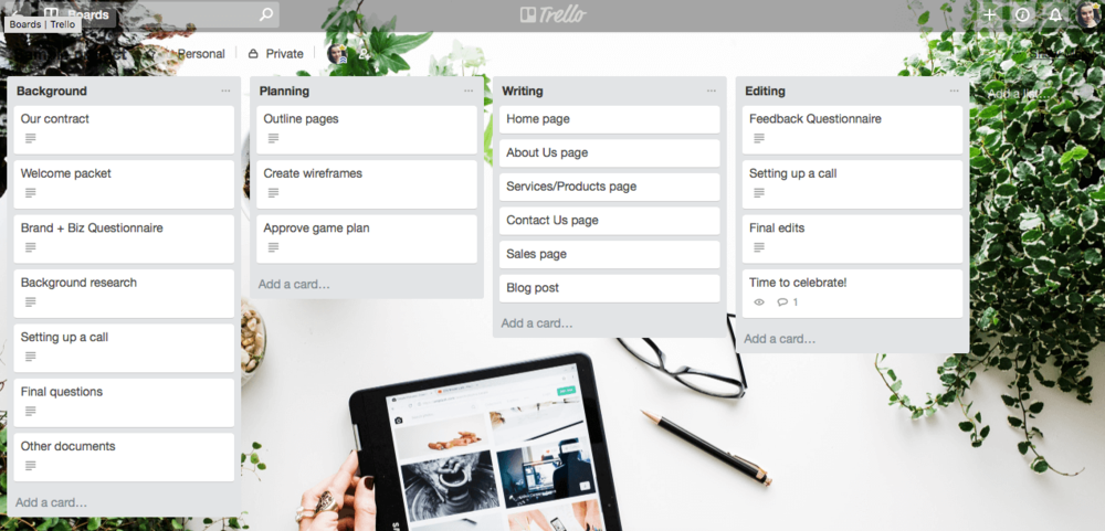 Use Trello For Managing Client Projects