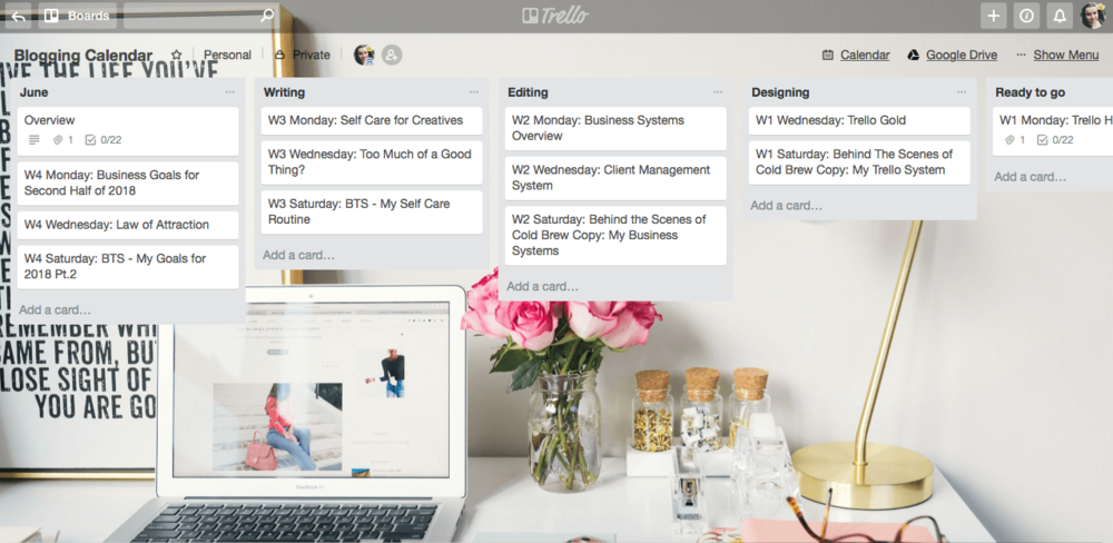 Trello Gold Features