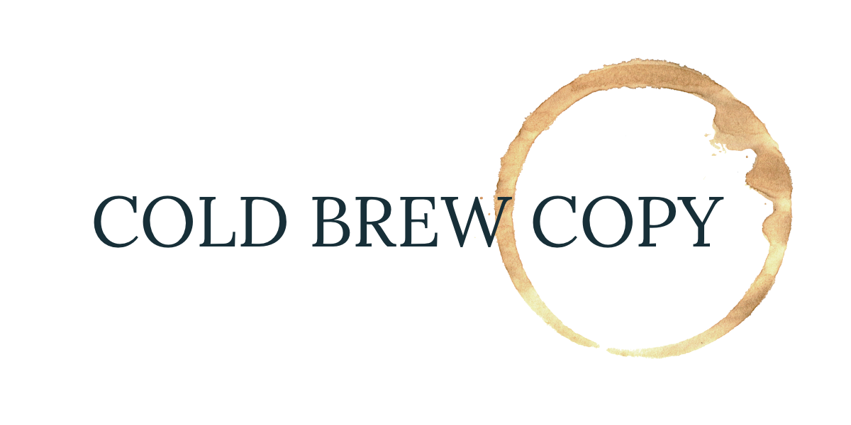 Cold Brew Copy
