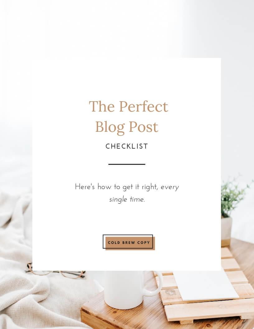 content-writing-blog-post-checklist