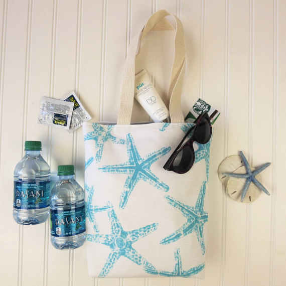 Beach wedding guest welcome bag