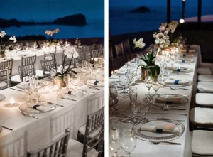 Love the details – silver chiavari chairs, chargers, and more!