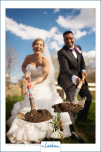 Lori and Sagar were both lovers of the outdoors so decided to plant a tree to commemorate their big day!