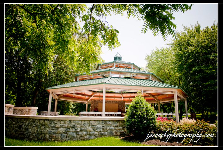 The gorgeous ceremony site.