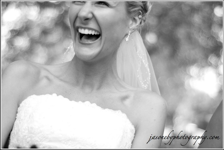 Love this picture of the bride! She looks so happy!