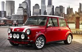 Bringing back memories of my childhood, a classic mini converted to electric.