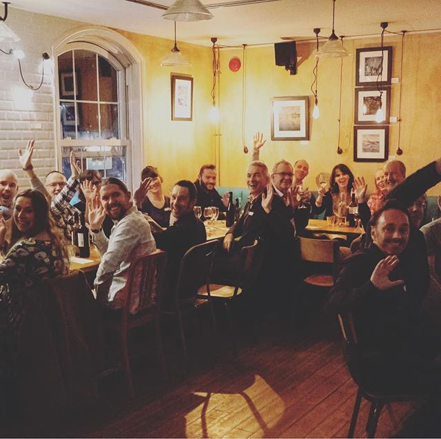 Great evening at our annual D-Lab Christmas Dinner #HERE great food great people. If you are a local creative working on your own keep in touch. It would be great to have you join us next year. #berko #berkhamsted #coworking #fablab #makerspace #creative #architecture #workmakelearn  #dacorum