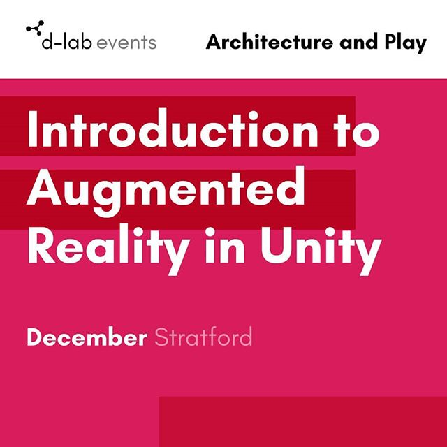Next Thursday in @eastvillageldn  we'll be running a workshop on #augmentedreality for architects, designers, gamers, and artists.  We'll be covering the basics of using #Unity and #vuforia to create #iOS and #Android apps to show 3D models in #AR.  Taught by Ed Fish our resident creative technologist and program director.  Absolute beginner workshop - no coding required!  Book up now - only £75 or £50 for students/between jobs 😎👉👉 bit.ly/2QwOU5c  #londonevents #workshops #gamedev #gamedevelopment #indiegamedev #architecture #architecturestudent #creativetechnology #digitalarts #mediaarts #workmakelearn #newham #stratford #london #ldn #londonevents #londondigitaltech #meetup #creativecoding #unity3d #vuforia #ar #vr #xr