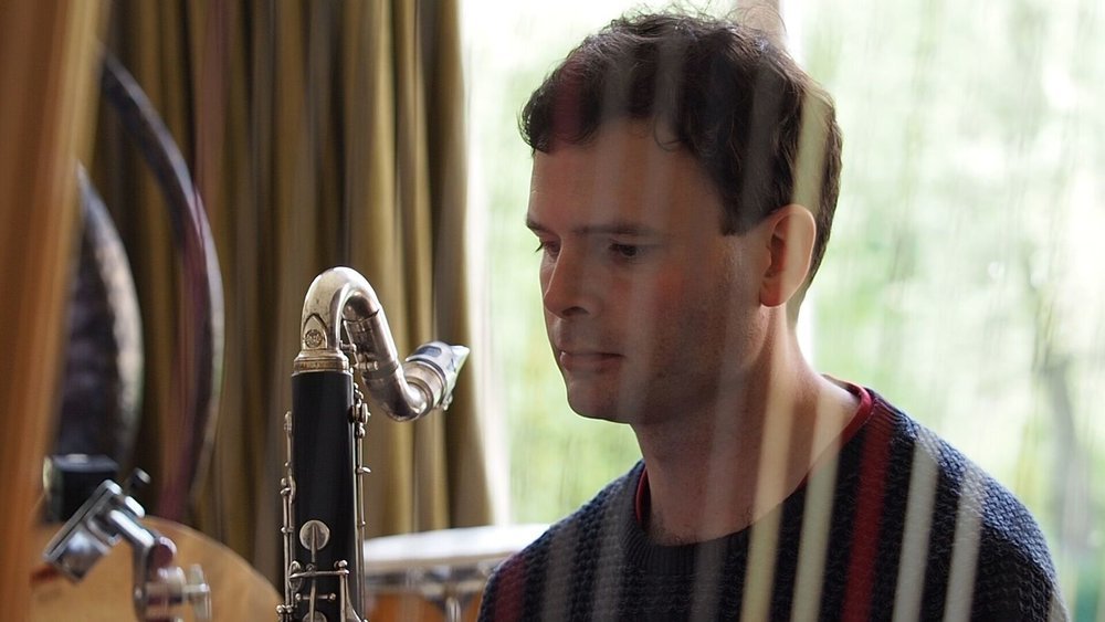 James Allsopp clarinet, bass clarinet