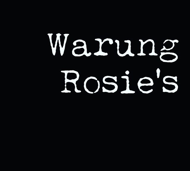It is with great pleasure that we would like to announce that Warung Rosie's is from tomorrow onwards open for business on the Rozengracht. Your enthusiasm for eating, combined with our enjoyment of cooking Surinamese cuisine has resulted in our decision to continue. We are here to serve you Comfort food from Suriname, killer wines and cocktails and of course salted caramel soft serve. Thanks.