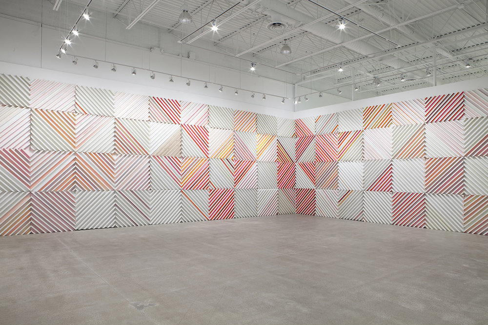 Installation view,  Cordy Ryman: Chimera 45 , Columbus College of Art and Design (CCAD), Columbus, Ohio, 2015