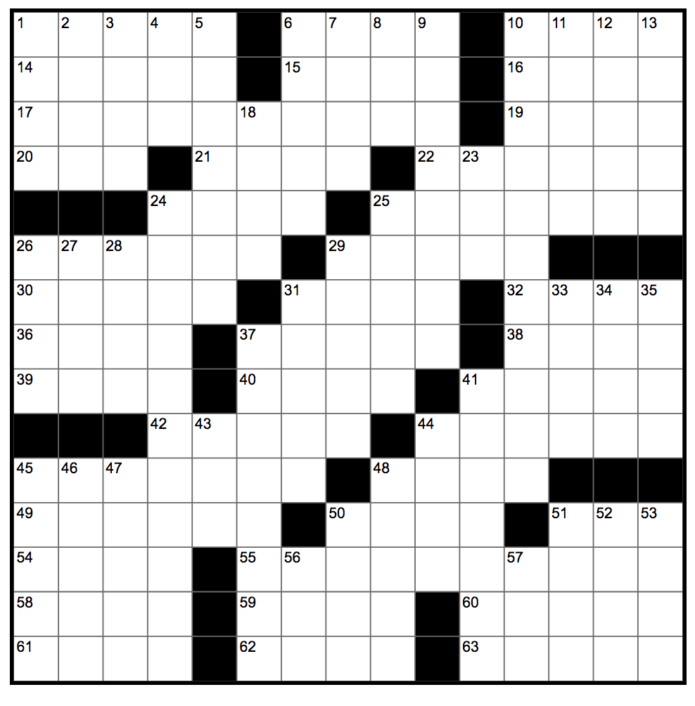 Muchnick – Crossword 5