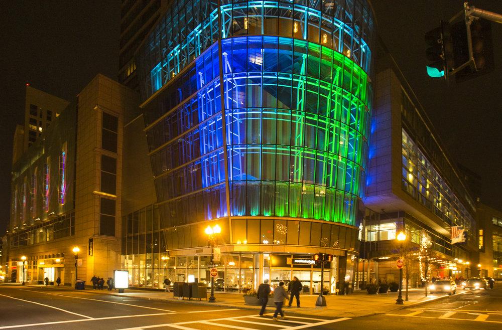 Sports Club LA - Boston, MA. LED Design & Installation - Port Lighting Systems. (2014.) PHOTO:MATTTEUTENPHOTOGRAPHY