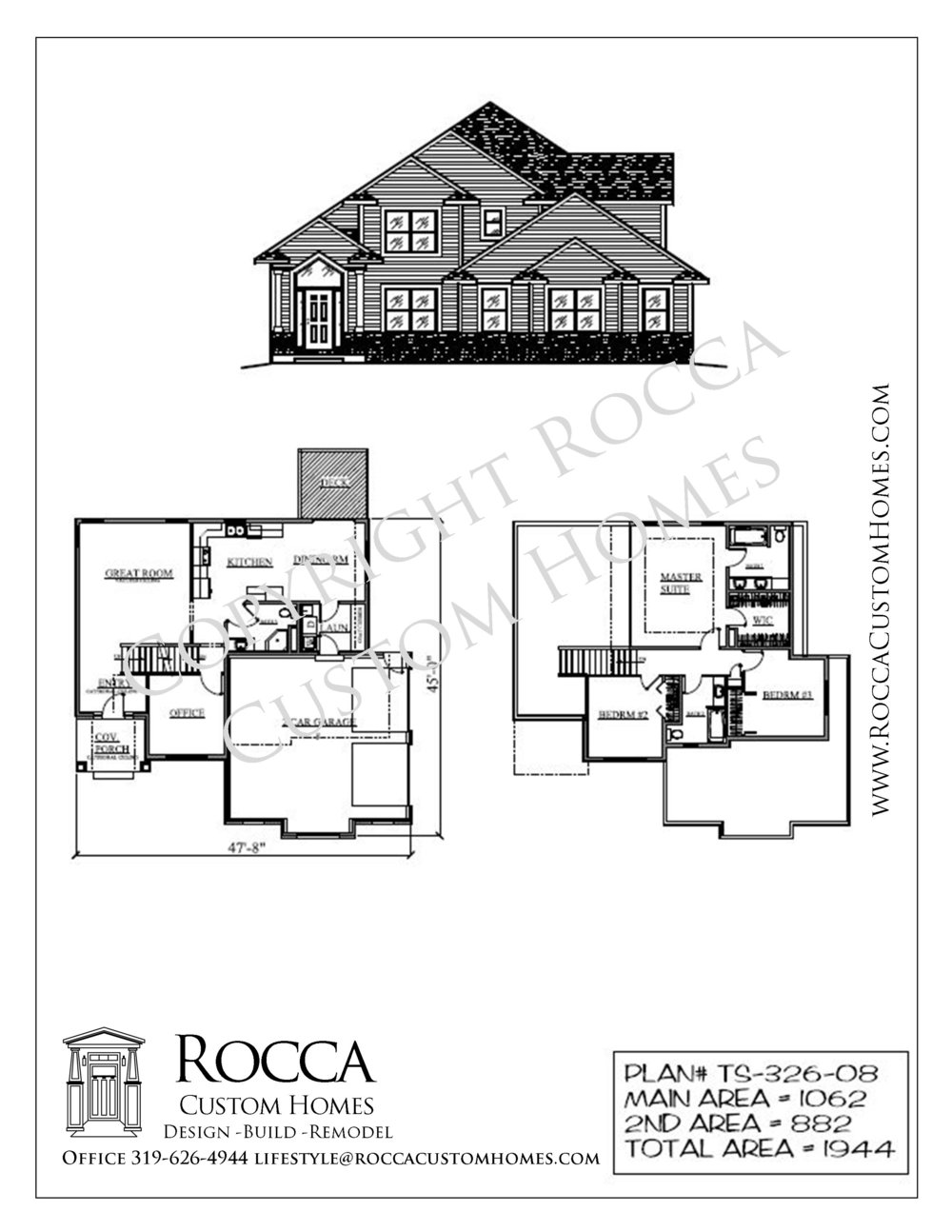 Home Plans — Rocca Custom Homes