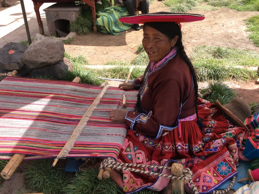 Textile Tour:Explore The Vibrant Textiles Of Peru's Sacred Valley and Cusco - April & October 2019