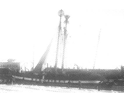 Fyrskib no: XV og Fyrskib no: XII i Esbjerg Havn.