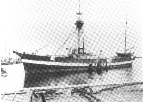 Fyrskib no: XVIII.Foto: Handels- og Søfartsmuseet på Kronborg.