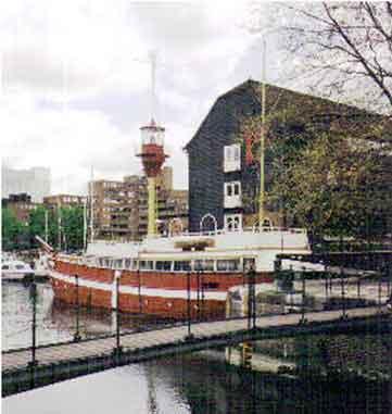 Foto: Media Press Standort Skt. Kathrins Dock, London, ca. 1997