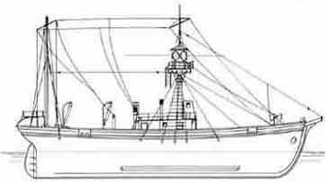 Zeichnung: «Svendborg Werft», Umbau 1932