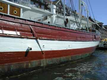 Motor Feuerschiff Nr. 2 im Detail