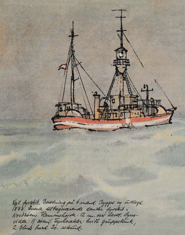 Brochure – Motorfyrskib nr. 1 til Esbjerg
