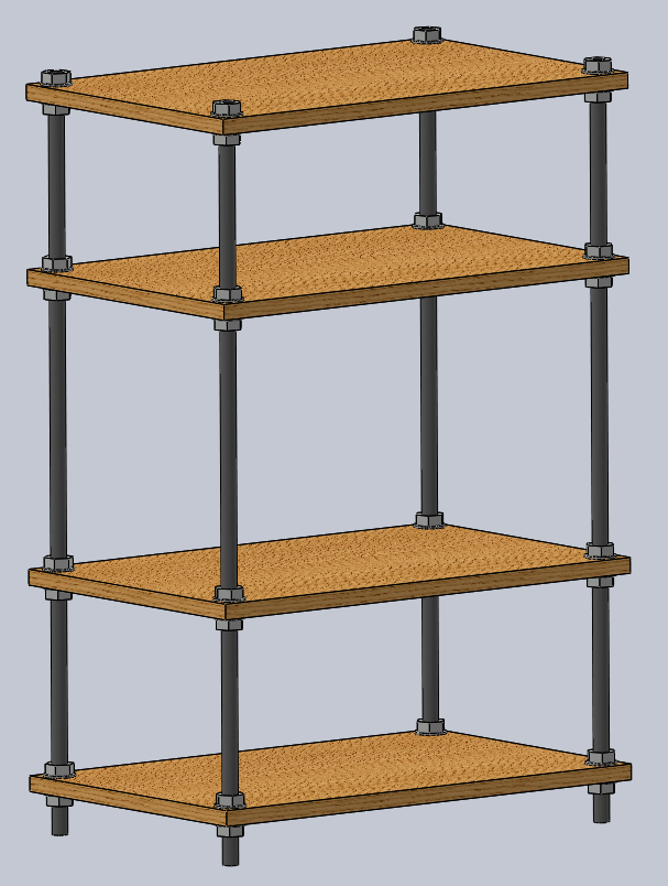 TV Stand & Stereo Rack -