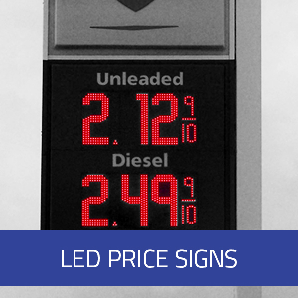 LED Price Signs