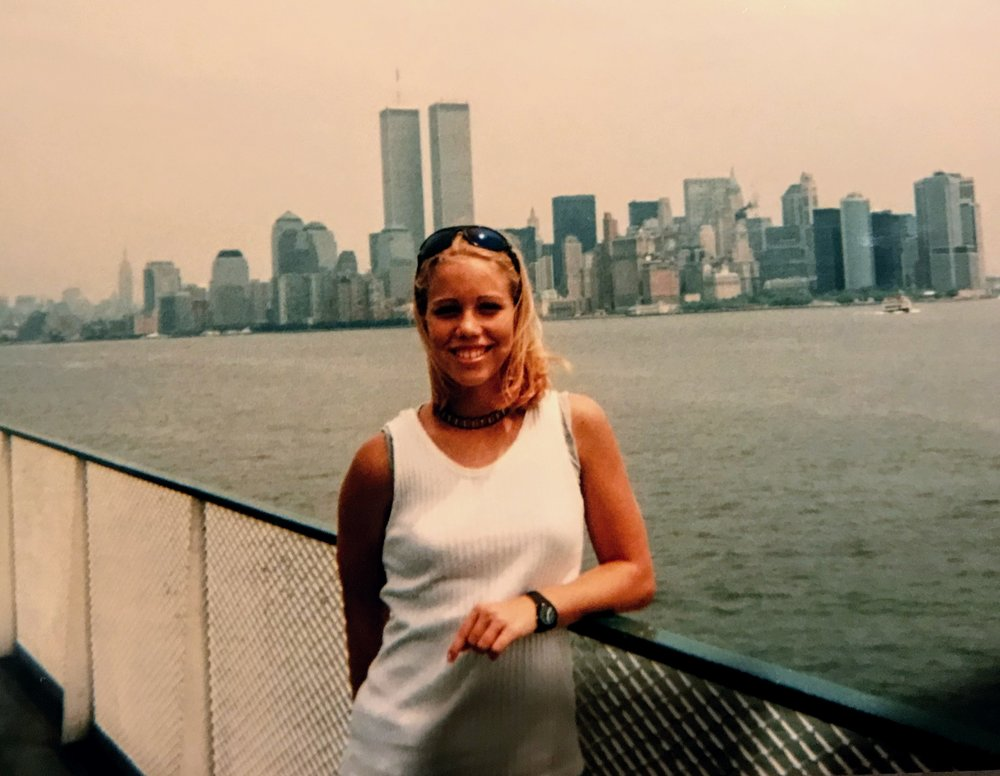 Visiting the Big Apple before the towers fell