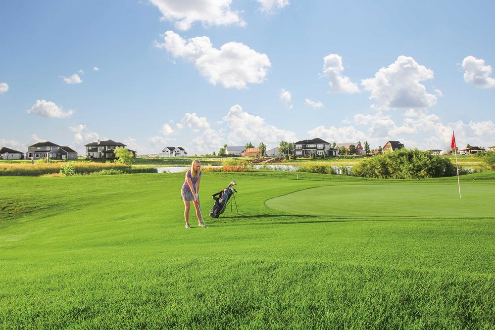 Recreational Opportunities - Osgood Golf Course includes 9-holes, a separate 3-hole practice loop, as well as a bar & grill!
