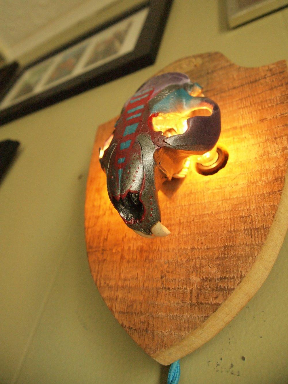 Beaver Skull — Light Up Labs