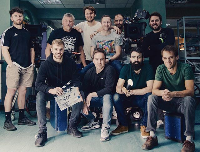 An immense camera crew. Wonderful work team. Love to all.. @wjohnfranciscook @tom_parry144 @garetheevans @stevenwynowen #casualtybbc