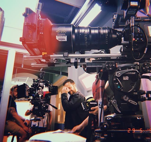 Camera team of dreams 🎥 #imsetfam • • • #arri #alexa #alura #camerateam #onset #makingtv #filming #bbc #cardiff #filmmaking #bts #chapman #peewee #cameraoperator #1ac #focuspuller #bbccasualty #setlife  @edwardtcam81 @spidervincent @samthomasphotographer