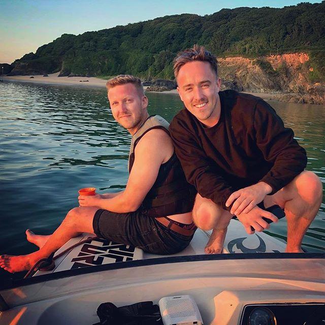 Last boat post. I promise. @benjysmit  #fletcher #speedboat #salcombe #sunnycove